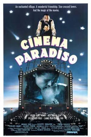 "Poster art for ""Cinema Paradiso."""