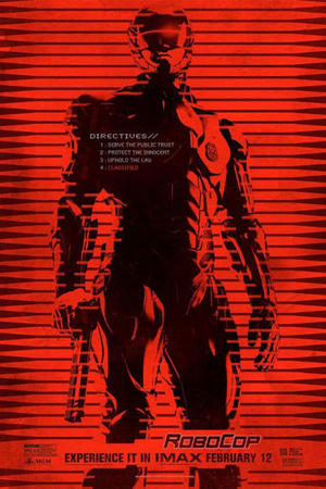 "Poster art for ""RoboCop: The IMAX Experience."""