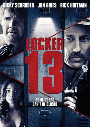 "Poster art for ""Locker 13."""