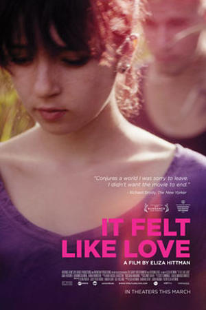 "Poster art for ""It Felt Like Love."""