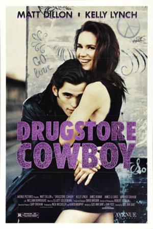 "Poster art for ""Drugstore Cowboy"""
