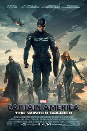 """Poster art for """"Captain America: The Winter Soldier"""""""