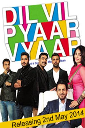 "Poster art for ""Dil Vil Pyaar Vyaar"""