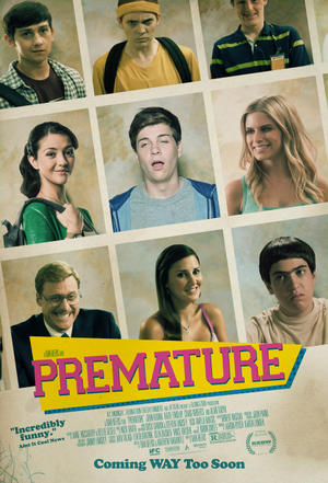 "Poster art for ""Premature."""