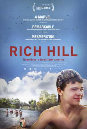 """Poster art for """"Rich Hill."""""""