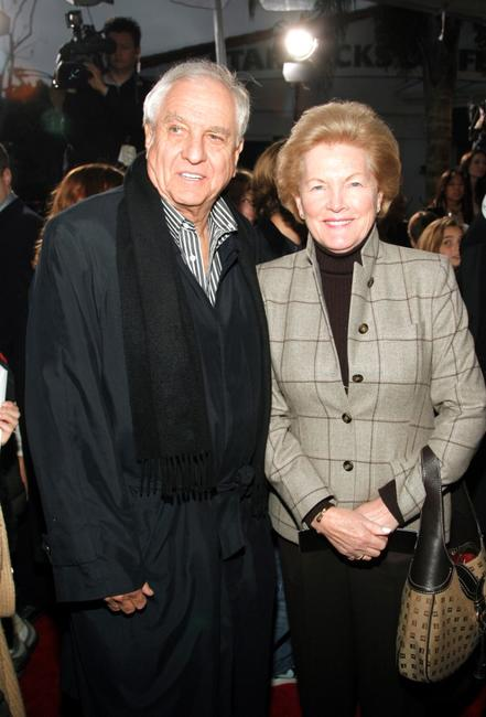 Gary Marshall and Barbara at the West Coast premiere of the New Line Cinema film
