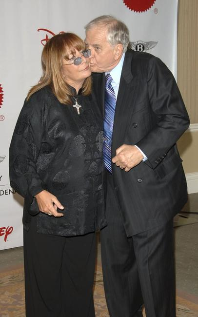 Penny Marshall and Garry Marshall at The Beverly Hills Hotel for the 7th Annual Wish Night on behalf of the Make-A-Wish Foundation.