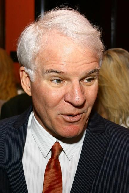 Steve Martin at the reception for the book