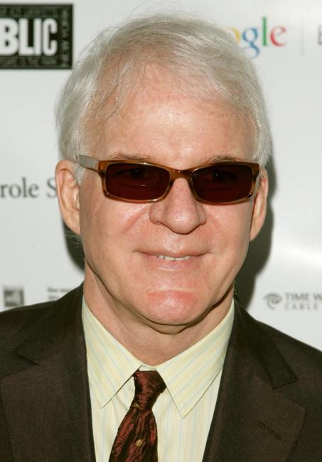 Steve Martin at the opening night of