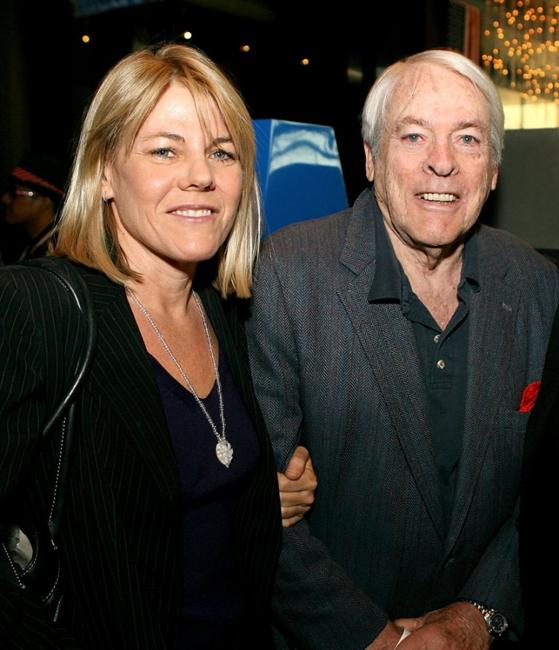 Lillah McCarthy and Kevin McCarthy at the Los Angeles premiere of