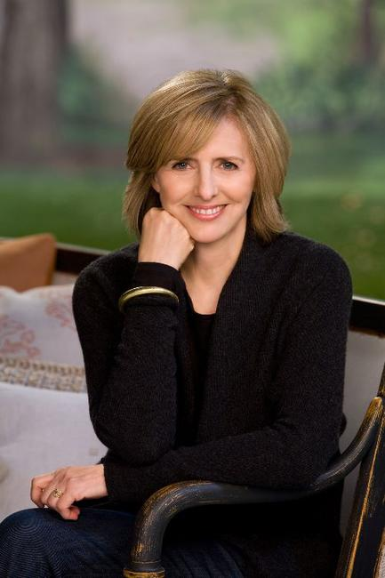 Nancy Meyers on the set of