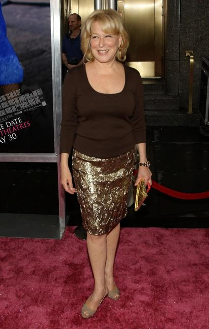 Bette Midler at the premiere of