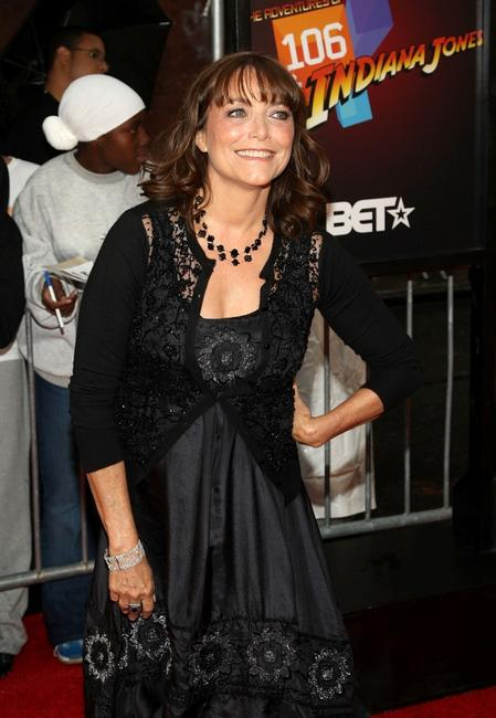 Karen Allen at the New York premiere of