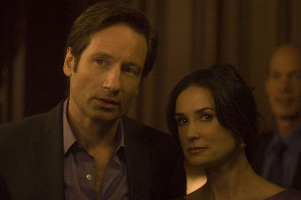 David Duchovny as Steve and Demi Moore as Kate in