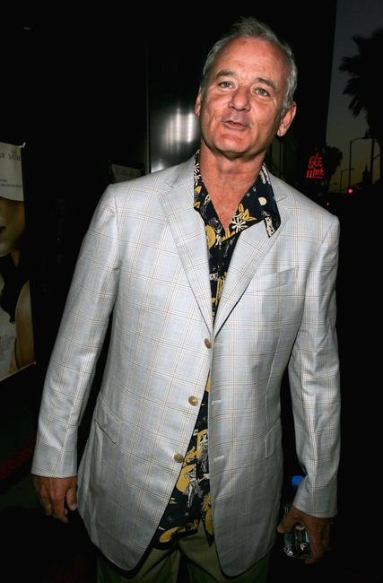 Bill Murray at the premiere of