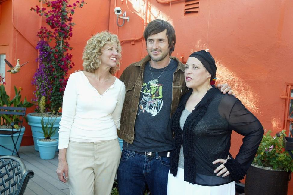Nancy Allen, David Arquette and Wendie Jo Sperber at the weSPARK, a New Healing Garden.