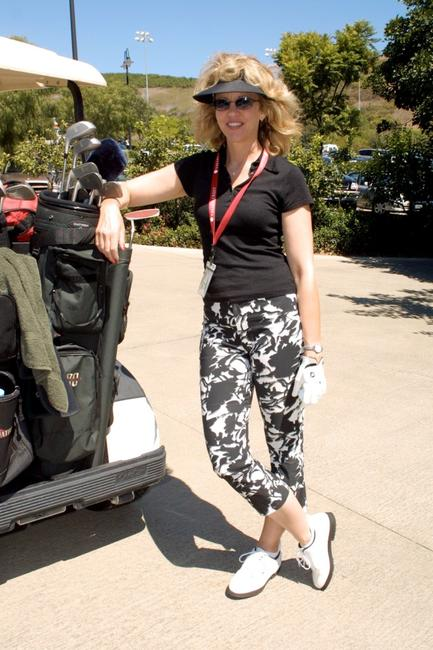 Nancy Allen at the Third Annual Celebrity Golf Tournment.