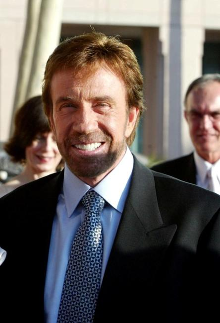 Chuck Norris at the Academy of Television Arts and Sciences Hall of Fame Induction Ceremony.
