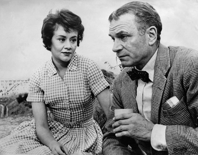 A File Photo of Joan Plowright and Laurence Olivier, Dated September 16, 1960.