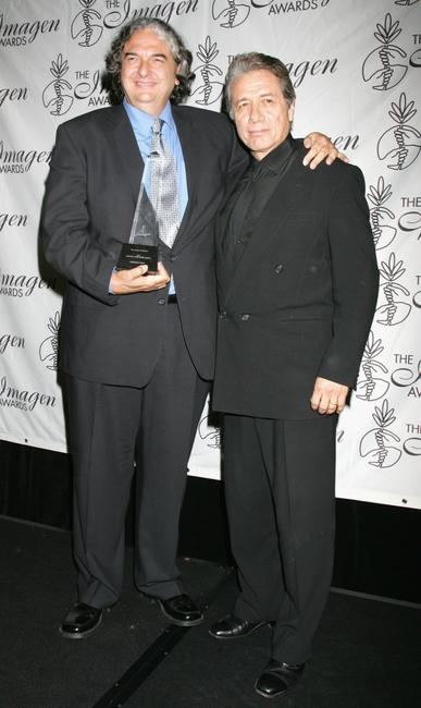 Edward James Olmos and Gregory Nava at the 10th Annual LA Latino International Film Festival.