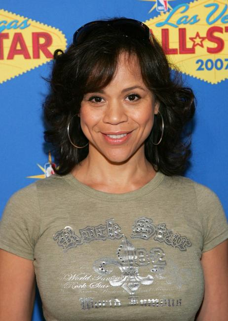 Rosie Perez at the 2007 NBA All-Star Game.