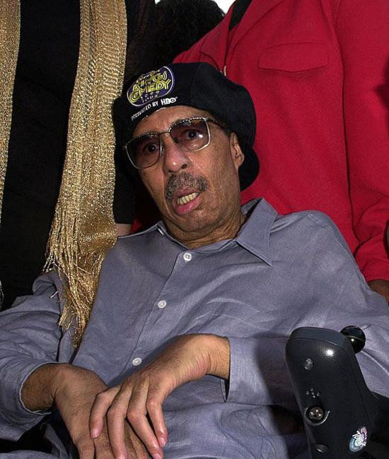 Richard Pryor at the premiere screening of