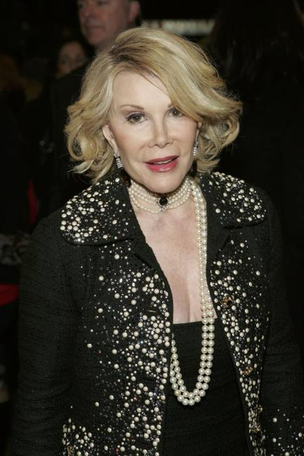 Joan Rivers at the opening night of