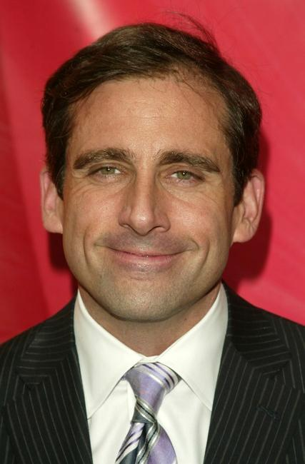 Steve Carell for the NBC upfront at Radio City Music Hall.