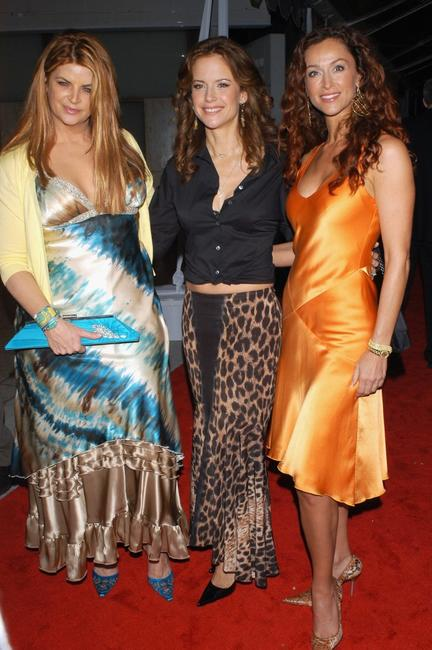 Kirstie Alley, Kelly Preston and Sofia Milos at the premiere of
