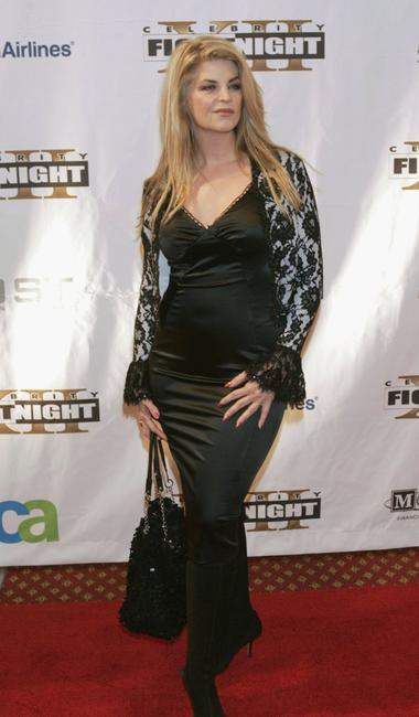 Kirstie Alley at the red carpet for Celebrity Fight Night XII.