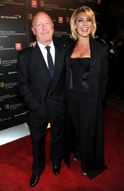 Tony Scott and Donna W. Scott at the BAFTA Los Angeles 2010 Britannia Awards in California.
