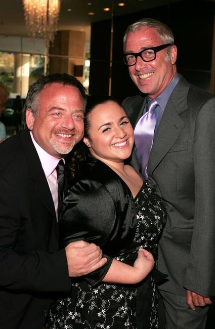 Marc Shaiman, Nikki Blonsky and Scott Wittman at the Museum of Tolerance 30th Anniversary 2007 National Tribute Dinner.