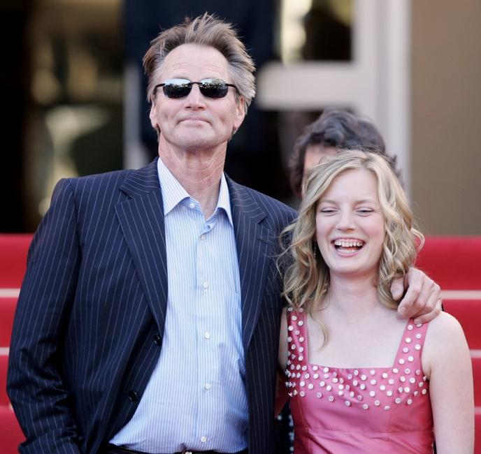 Sam Shepard and Sarah Polley at the screening of