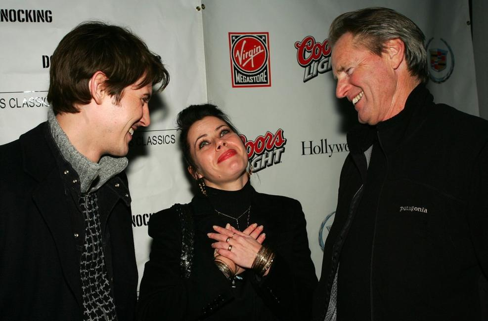 Sam Shepard, Gabriel Mann and Fairuza Balk at the premiere of