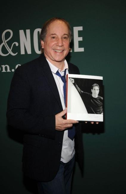 Paul Simon at the book signing for