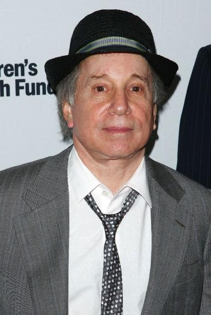 Paul Simon at the Children's Health Fund benefit.