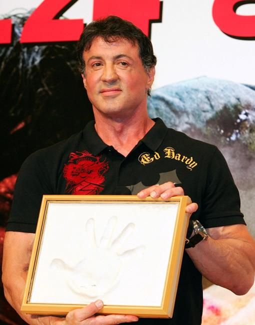 Sylvester Stallone at the photocall of