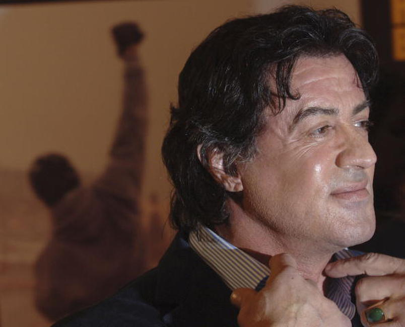 Sylvester Stallone at the Rome premiere of
