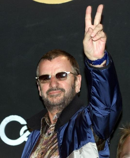 Ringo Starr at the press conference to announce his new tour with the Ringo Starr All-Starr Band.