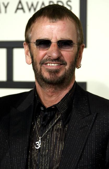 Ringo Starr at the 50th Annual Grammy awards.
