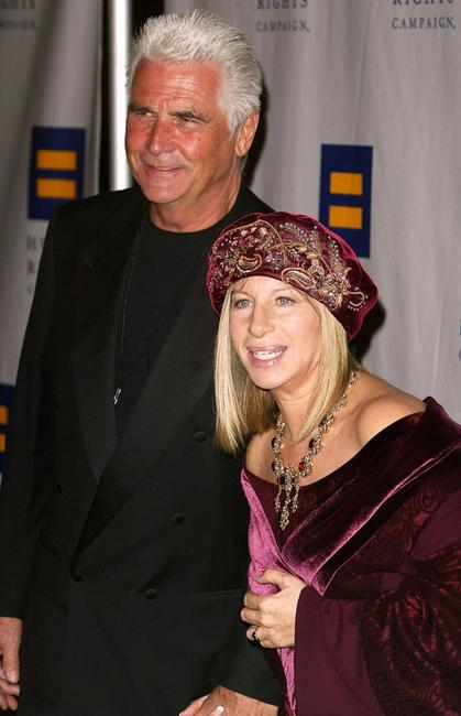 Barbra Streisand and James Brolin at the Human Rights Campaign's Annual Gala honoring.