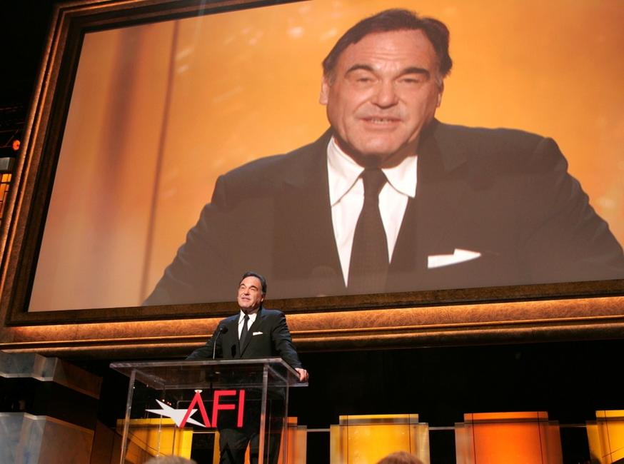 Oliver Stone at the AFI Life Achievement Awards.