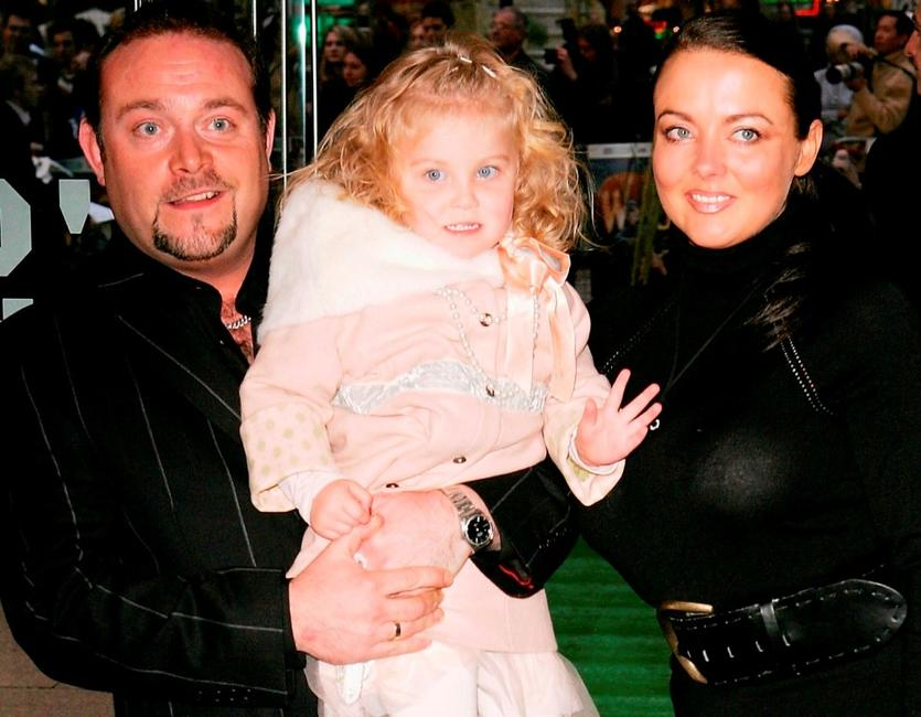 John Thomson, Wife and Olivia at the UK Charity premiere of