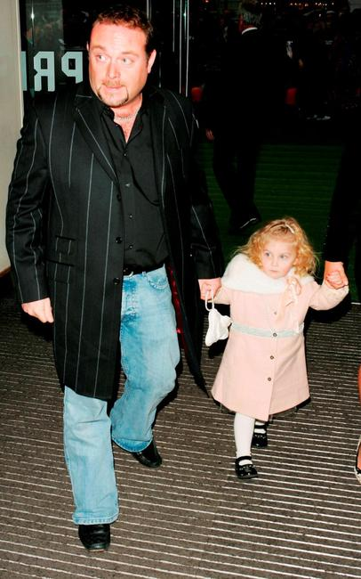John Thomson and Olivia at the UK Charity premiere of