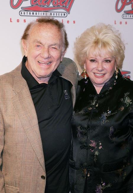 Jack Carter and his wife Roxanne at the Peterson Automotive Museum's 2005 Cars and Stars Gala.