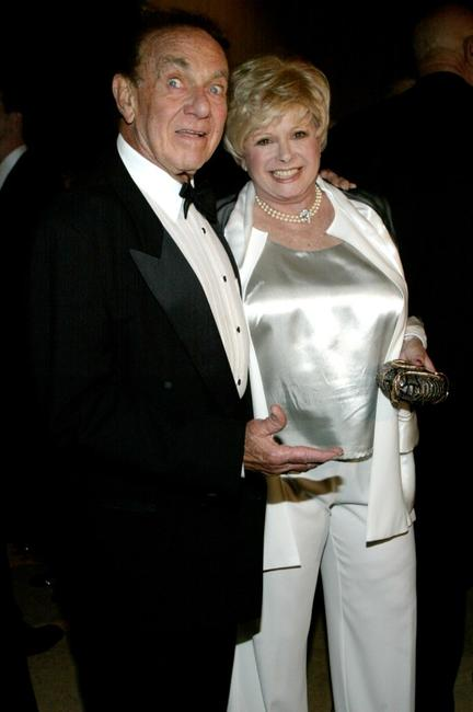 Jack Carter and his wife at the Volunteers Of America Gala.