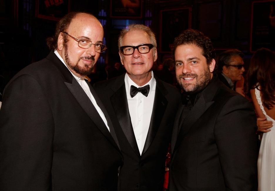 James Toback, Barry Levinson and Brett Ratner at the 36th AFI Life Achievement Award.