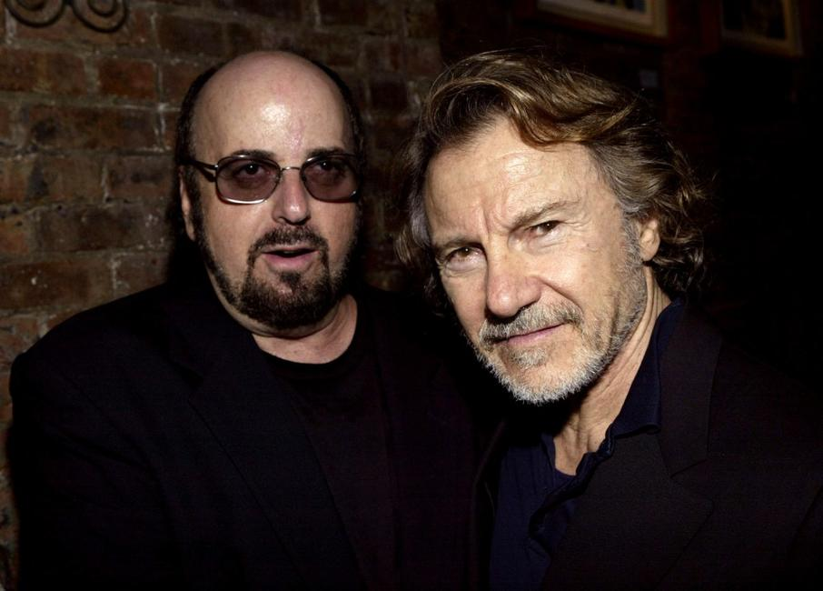 James Toback and Harvey Keitel at the Hamptons Magazine after party for the premiere of