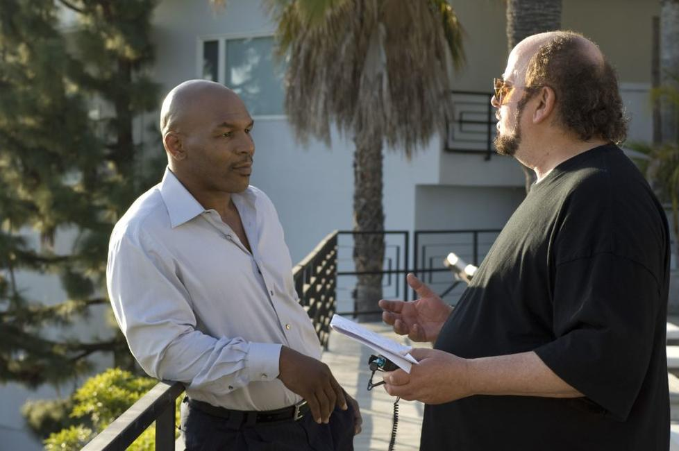 Mike Tyson and James Toback in