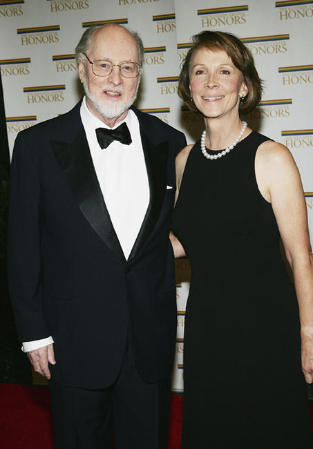 John Williams and Samantha at the 27th Annual Kennedy Center Honors in Washington.